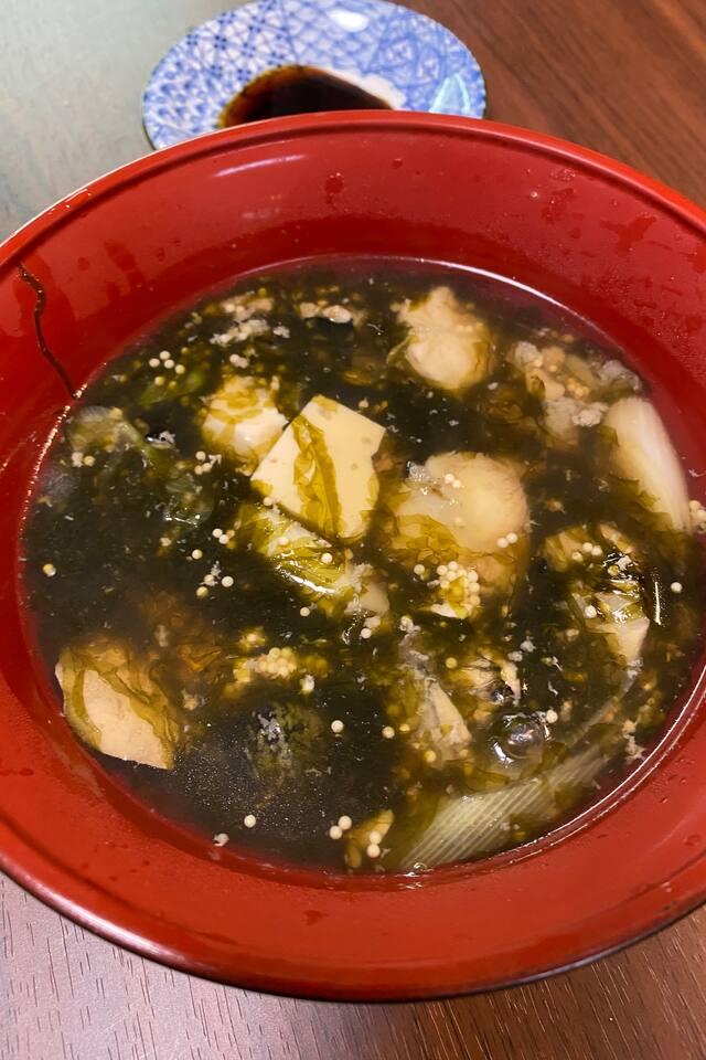 郷土料理 冬限定 ごっこ汁