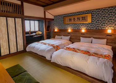 えびすまち高田屋 ベッドルーム
